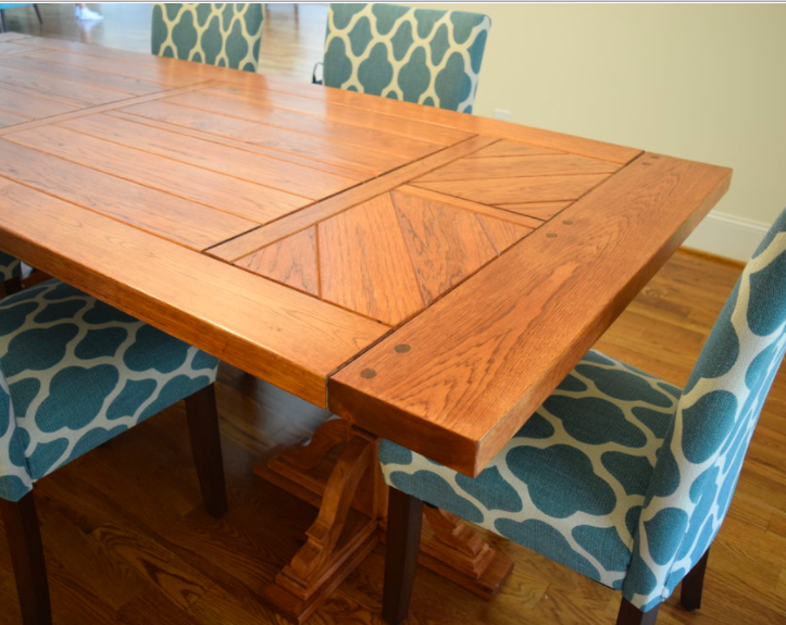 French Influenced Dining Table by Sam Rouse Furniture
