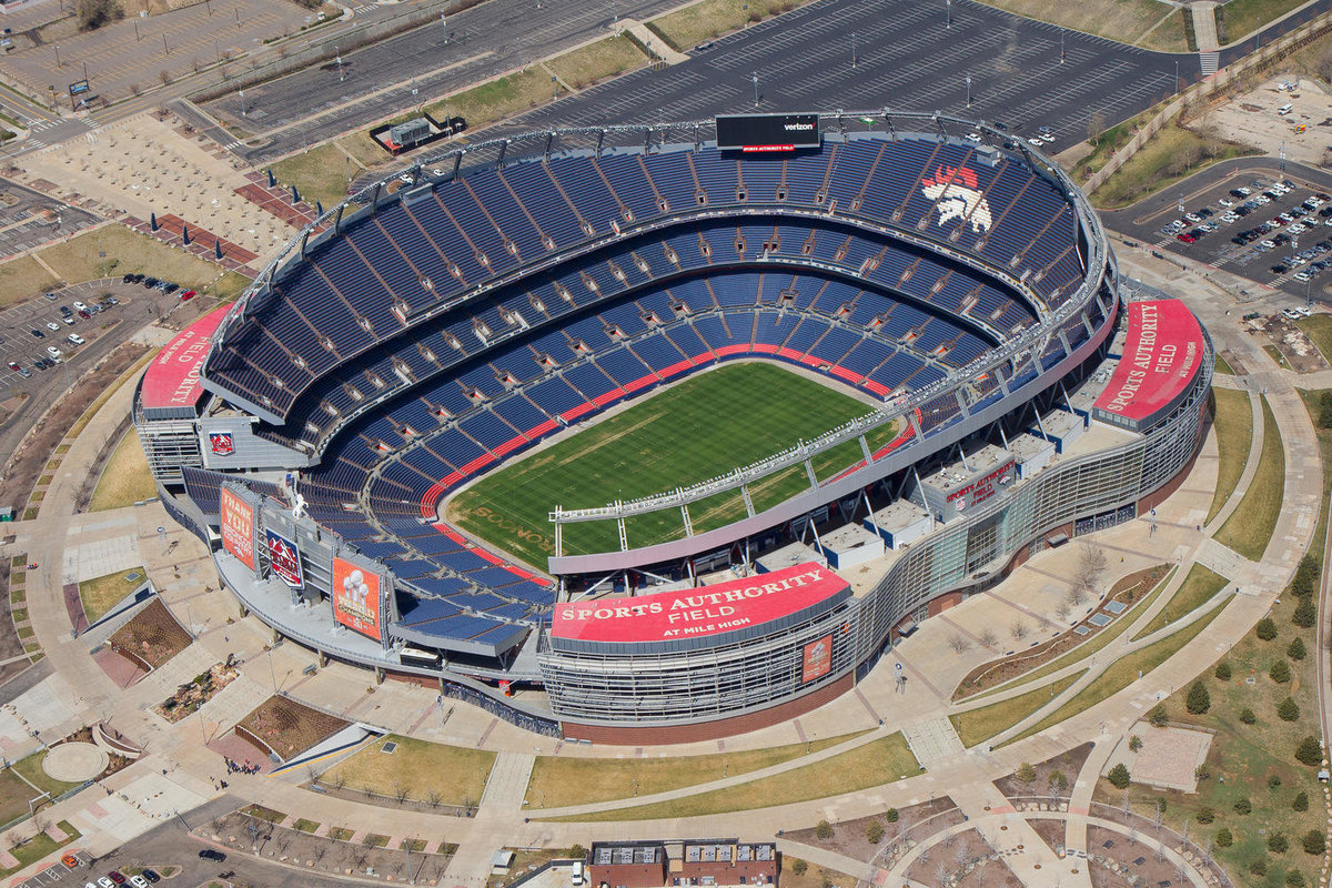 Mile High Aerial Photograph