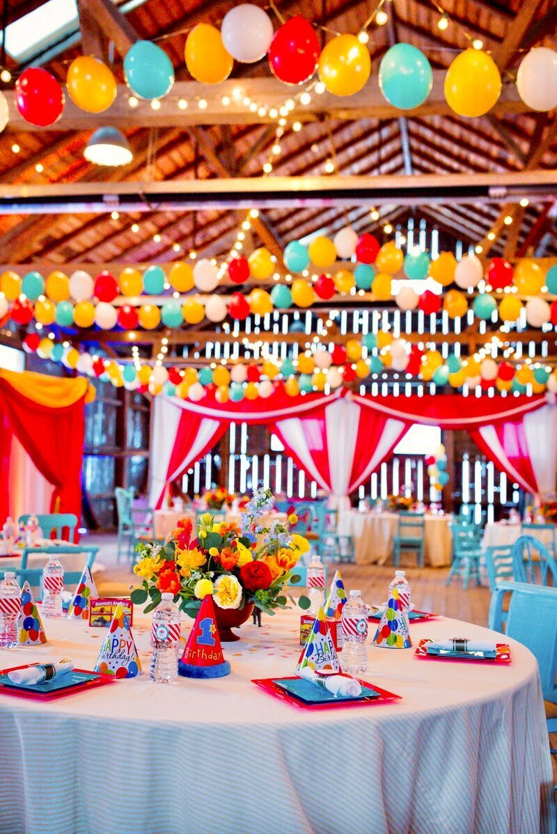 Circus Themed 1st Birthday Indianapolis Party Planner_0137