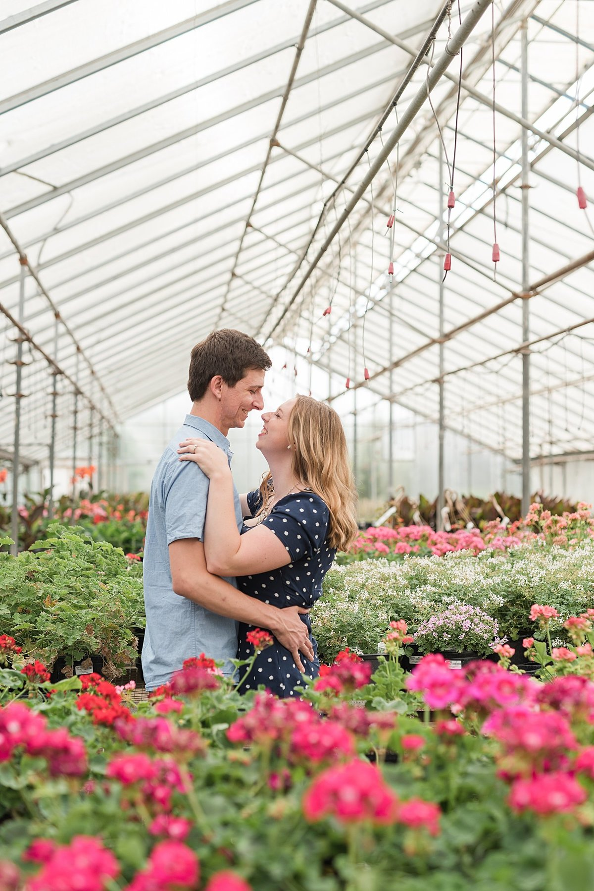 An Edwards Greenhouse and BSU Engagement Session-2