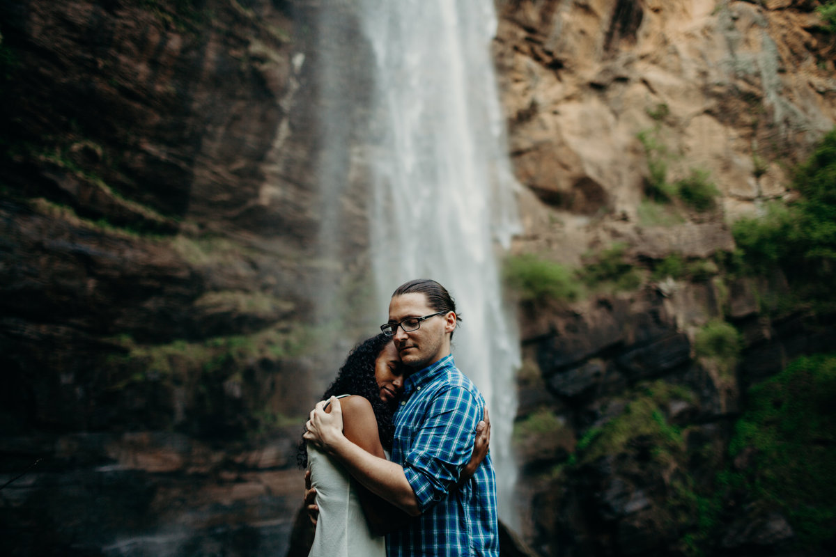 Toccoa Falls  engagement session by Greenville wedding Photographer Simply Violet Photography