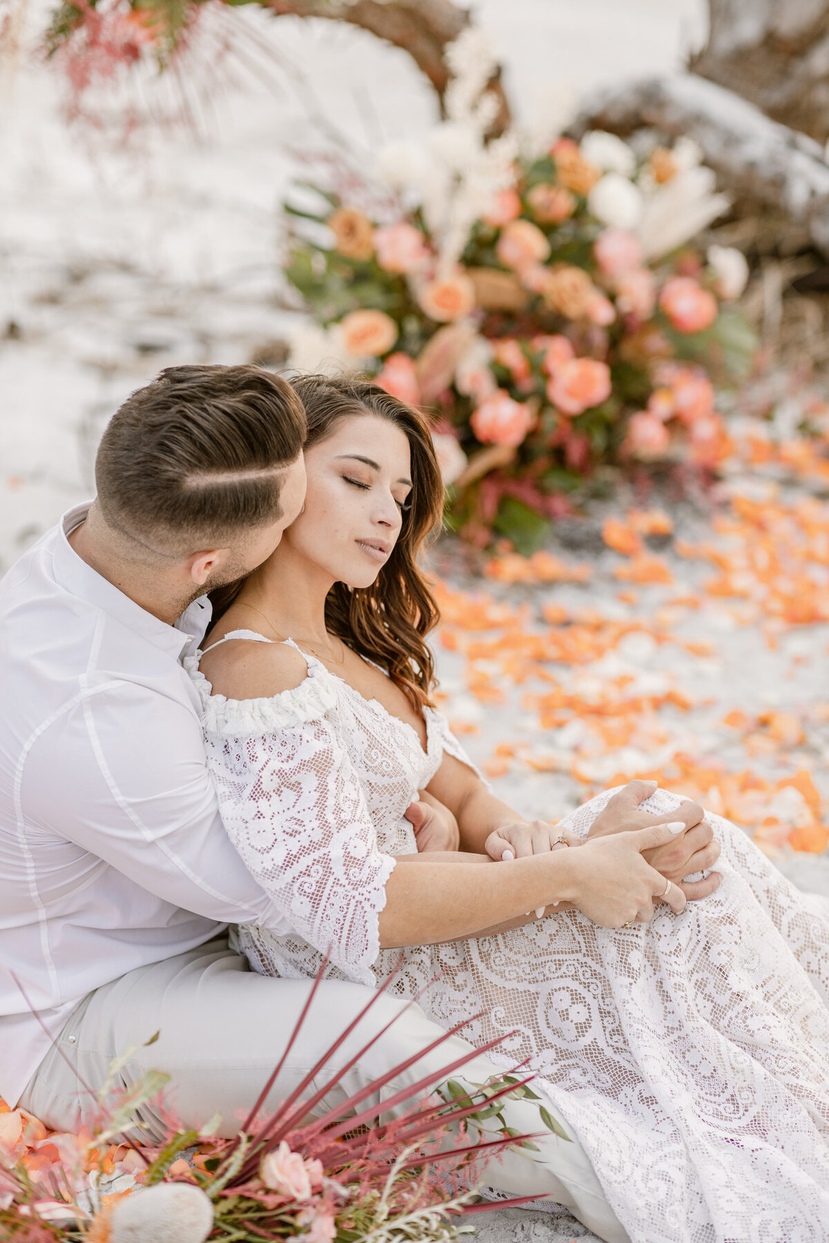 Beach Elopement in Saint Petersburg, Florida 15