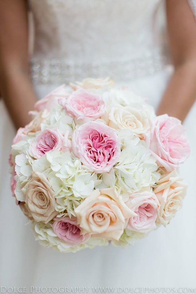 Blush pink weddings