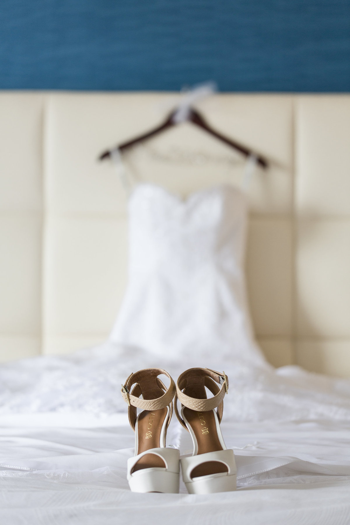 wedding details in JW Marriott suite