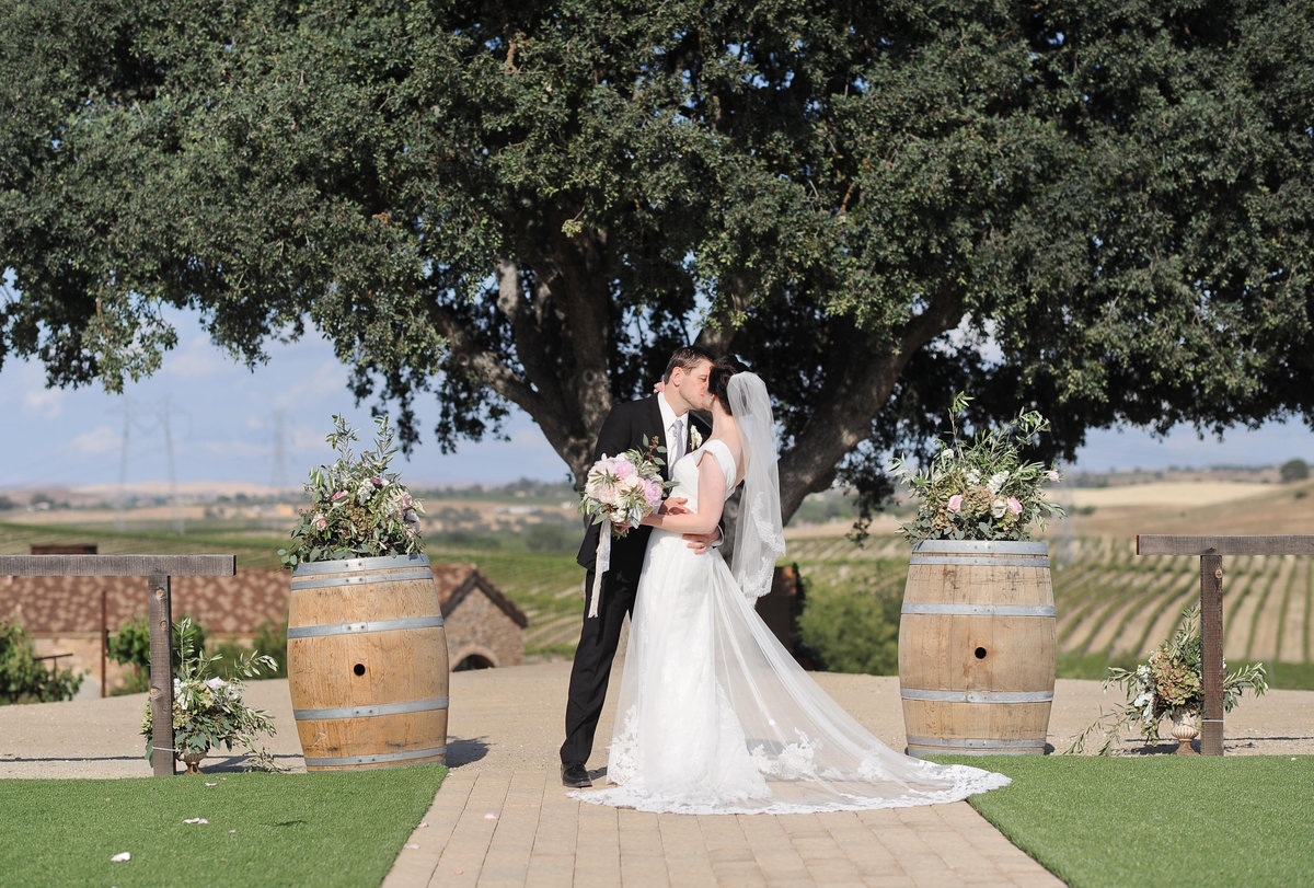 Paso Robles vineyard wedding photographer