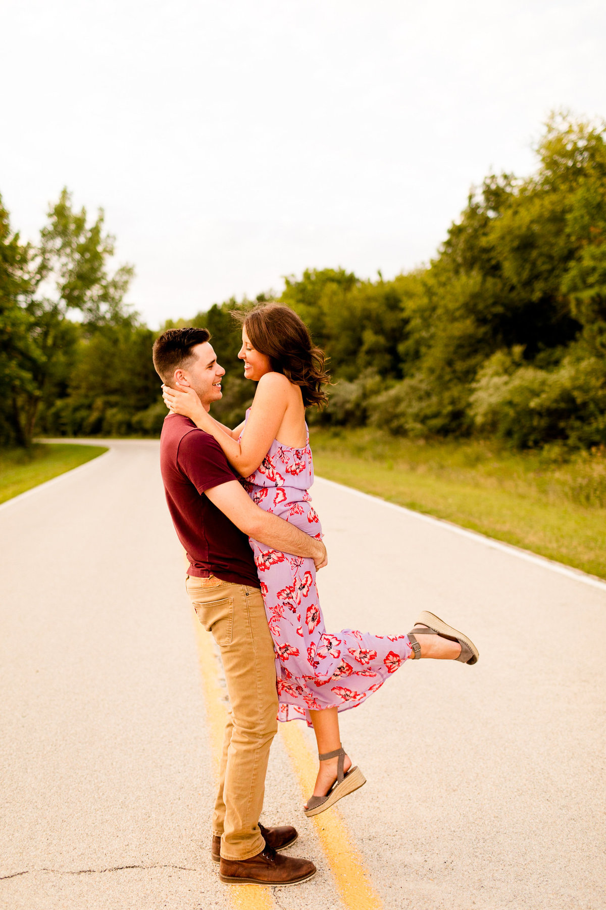Caitlin and Luke Photography Wedding Engagement Luxury Illinois Destination Colorful Bright Joyful Cheerful Photographer 317