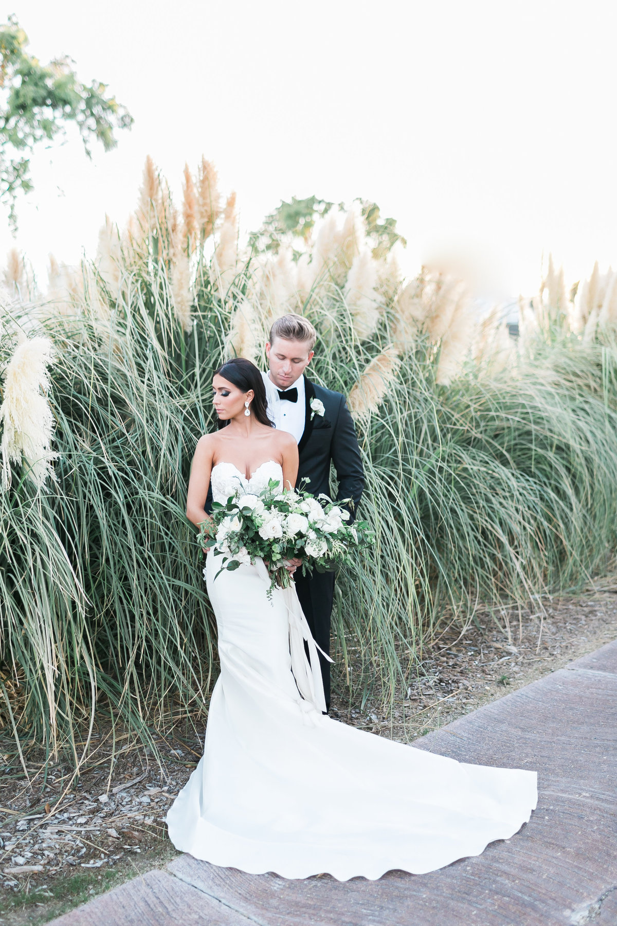 bride and groom photo at Las Vegas Country Club