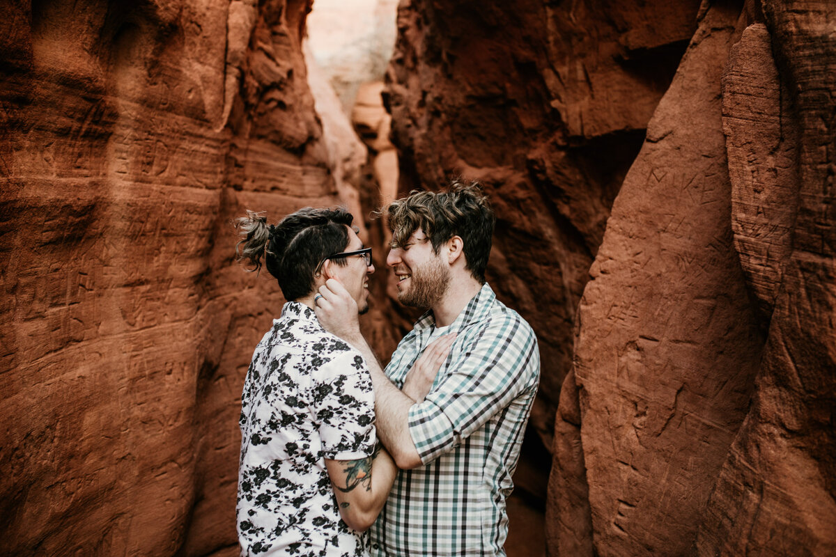 Red-Rock-Same-Sex-Couple-LGBTQ-Engagement-Photos-4