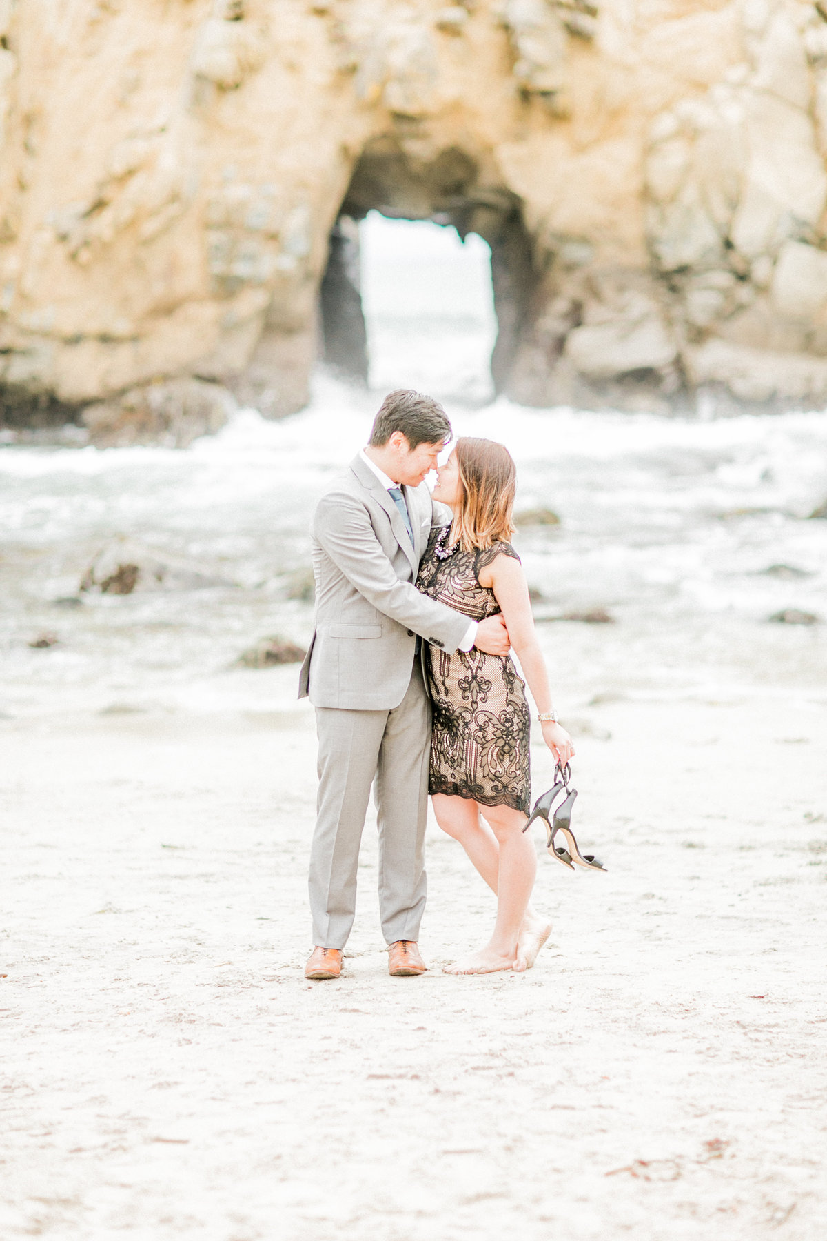 Central Coast Beach Couples Portraits