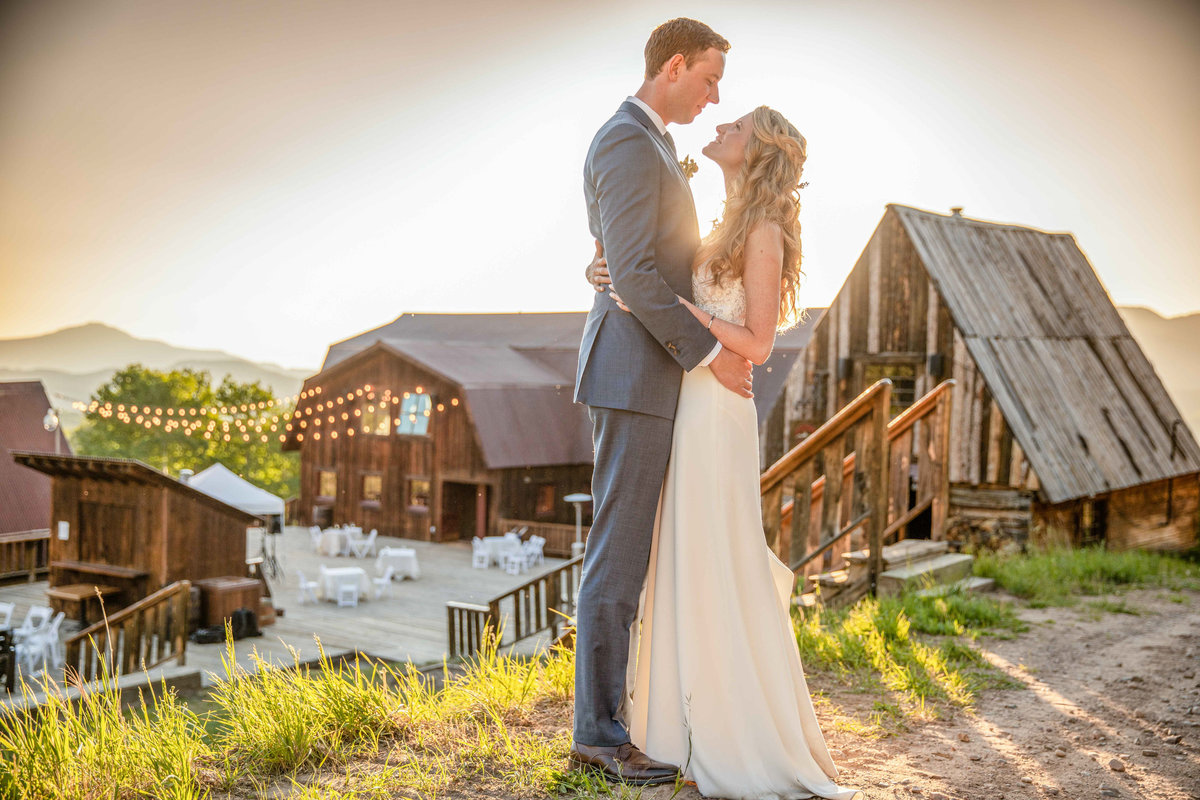 summer telluride wedding