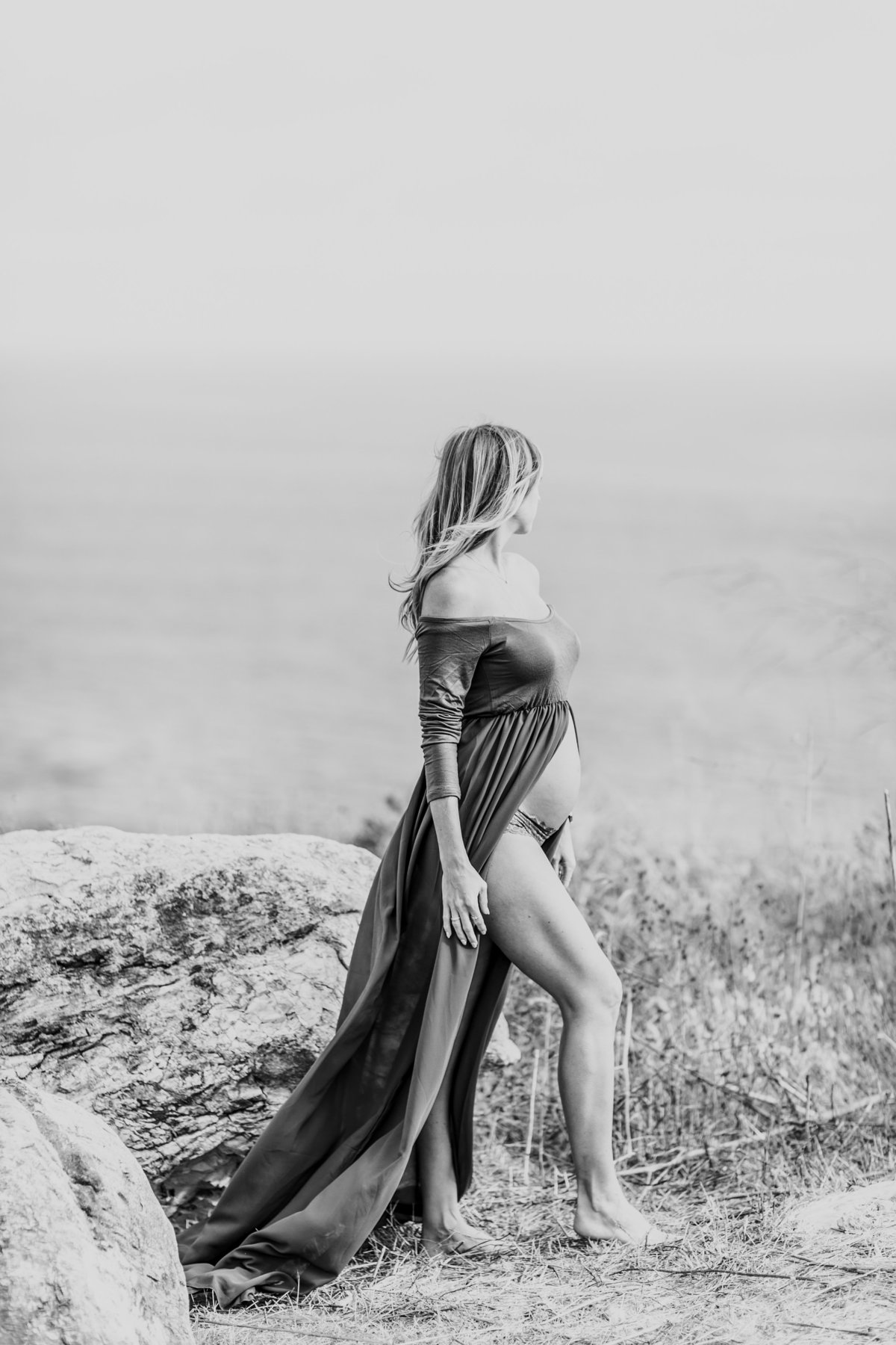 Southern California Coastline Maternity Session_Valorie Darling Photography-5756