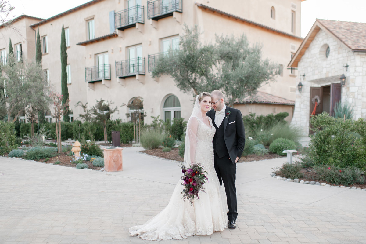 Allegretto Vineyard wedding photo
