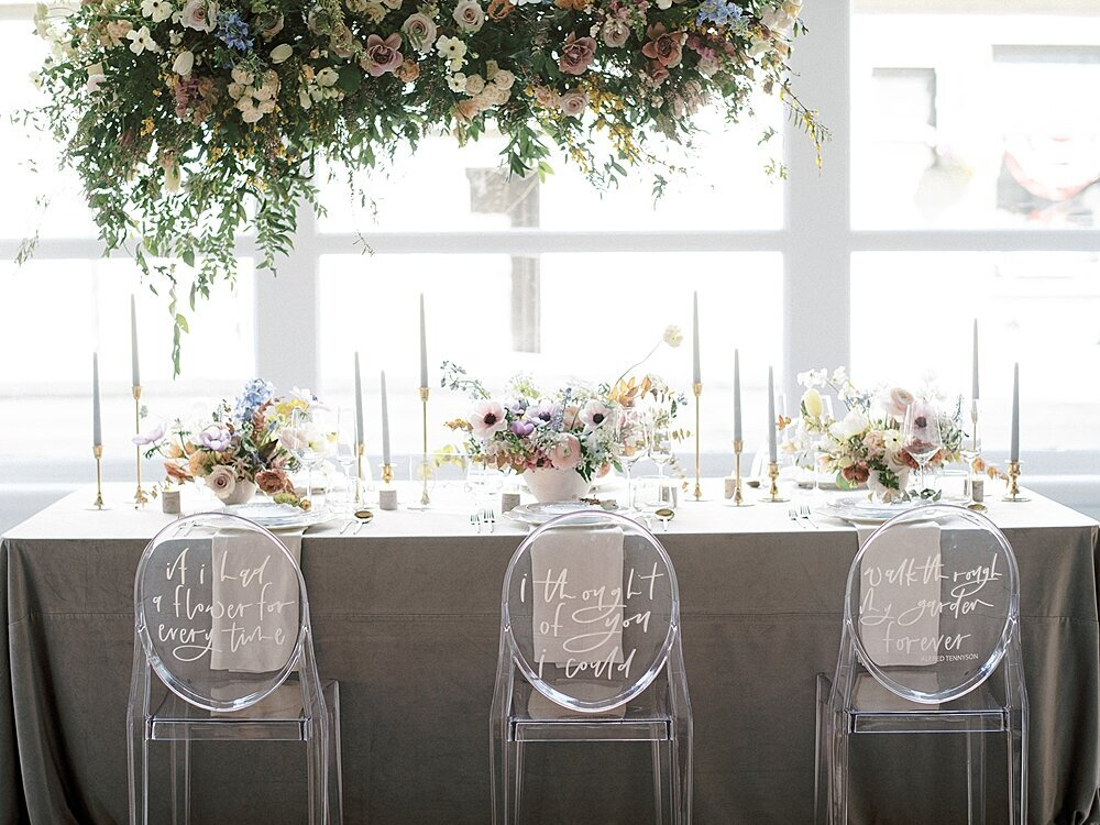 Modern-love-event-leigh-and-mitchell-reception-tablescape-hanging-installation-inspiration