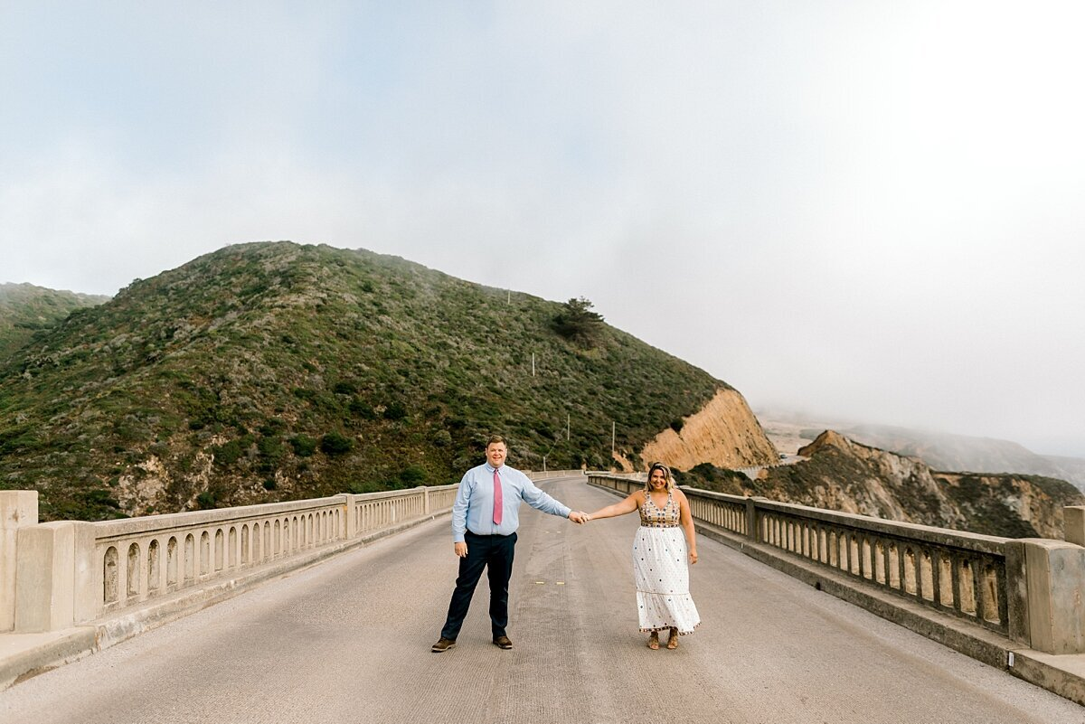 bixby bridge engagement photos