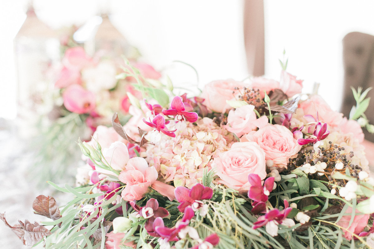 Blush Wedding Floral Inspiration