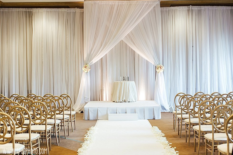 Royal Sonesta Baltimore wedding ceremony