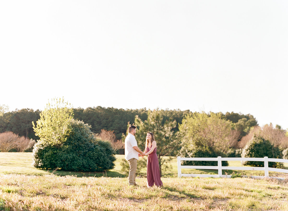 Raleigh fine art film engagement photographer photo