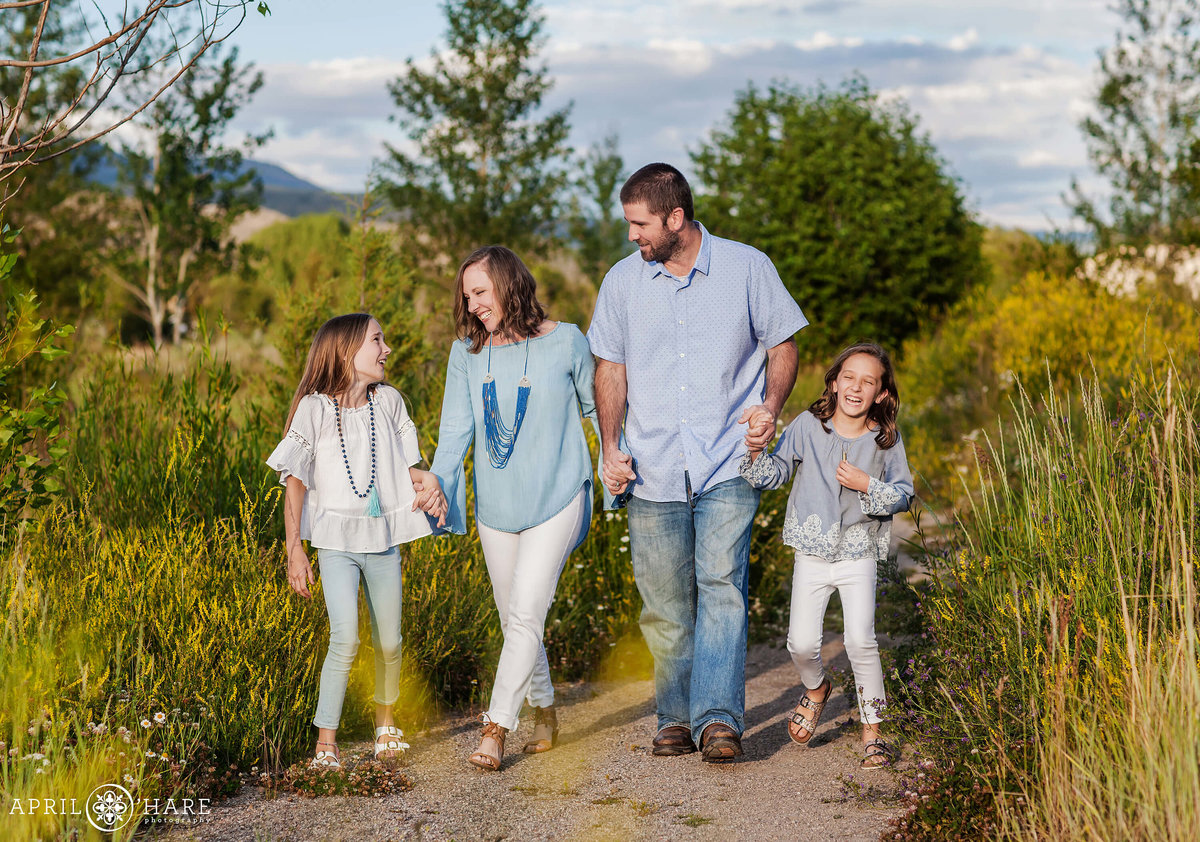 Colorado Family Photographer Edwards Eagle River Nature Preserve near Vail