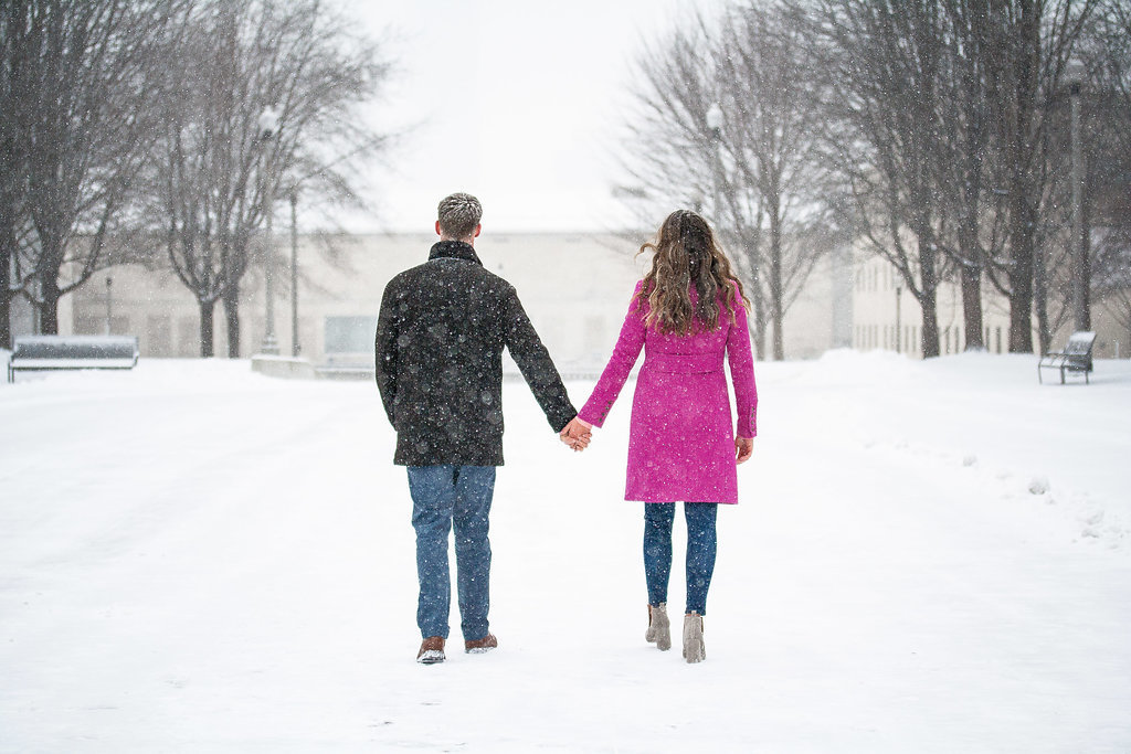 Millennium Park Chicago Illinois Winter Engagement Photographer Taylor Ingles 42