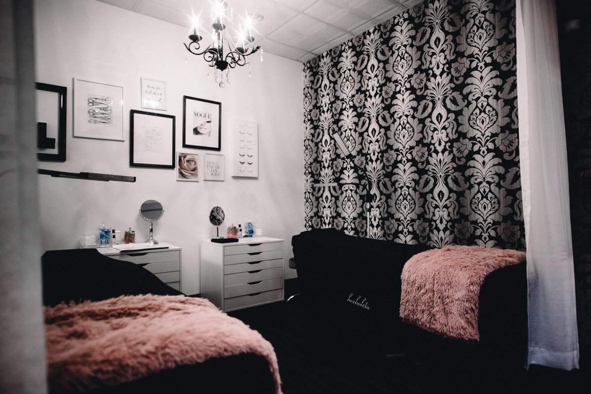 Waxing room at Salon Boutique