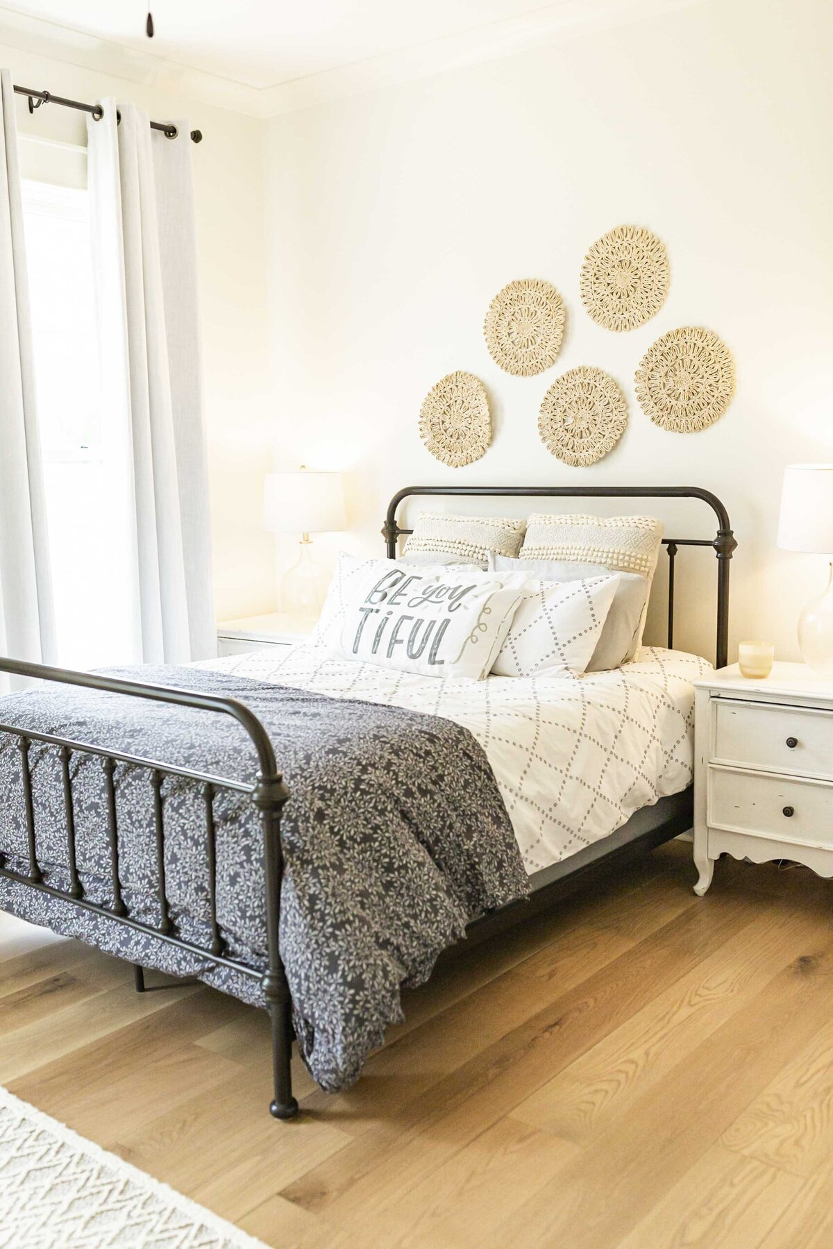 guest-bedroom-redesign-decor-metal-bedframe1