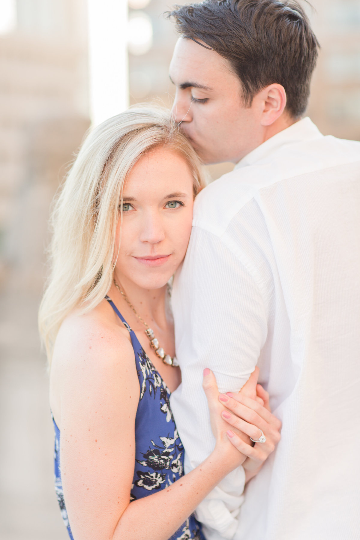 Indianapolis War Memorial Downtown Engagement Session Sunrise Sami Renee Photography-28