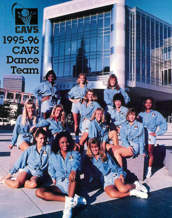 Cavs Dance Team 95-96 —