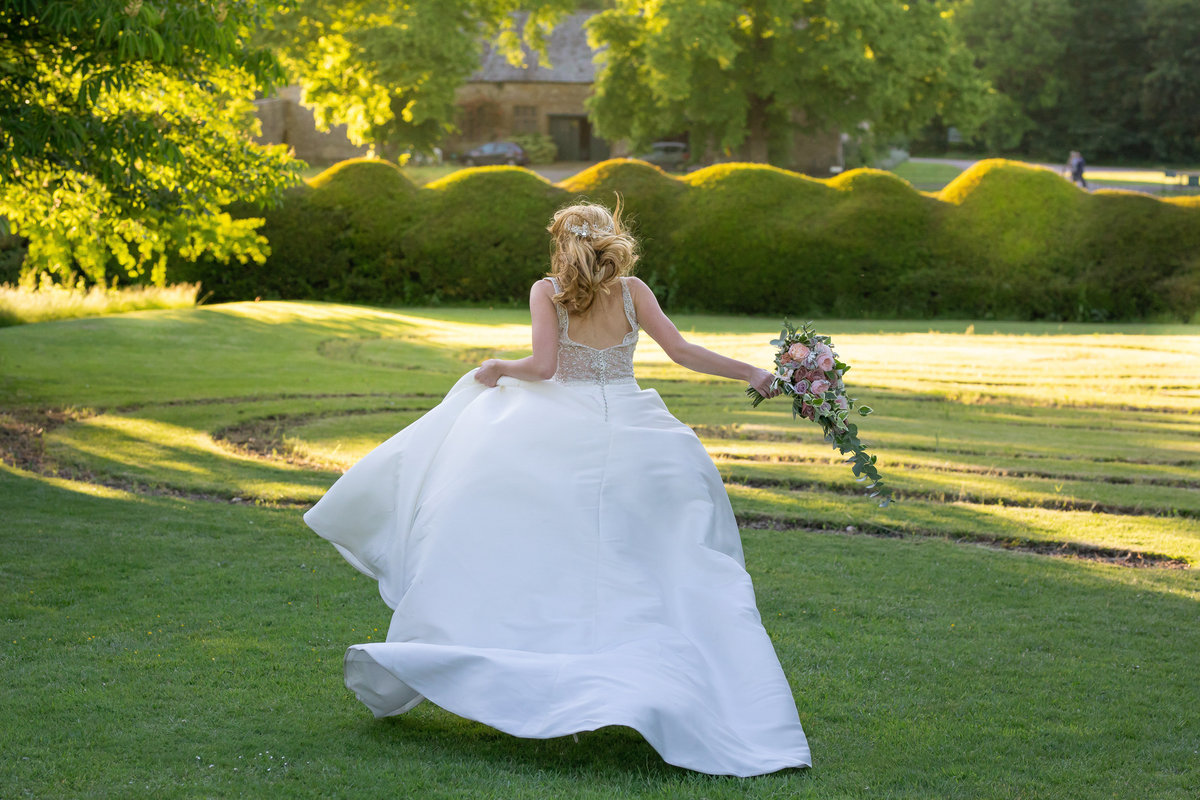 Forde Abbey Somerset wedding Bride