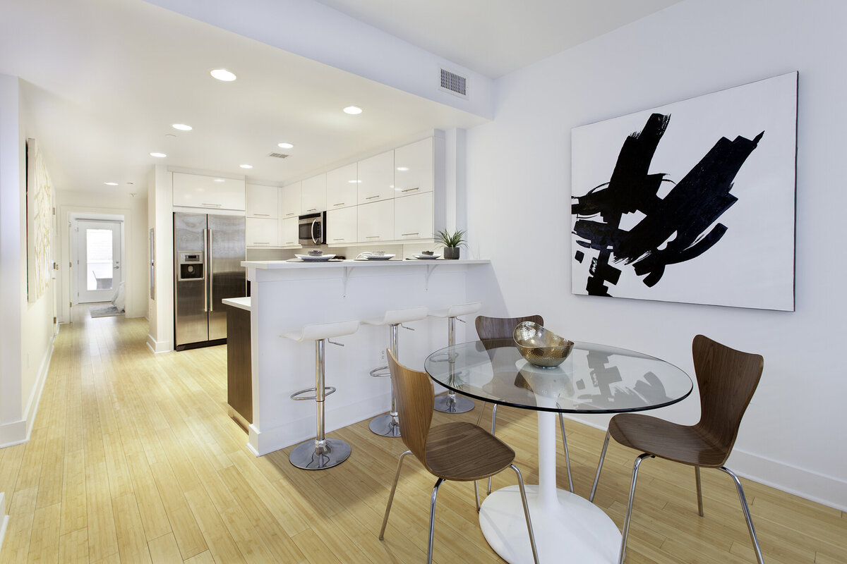 54 Steuben St Jersey City home staging by Simplicity Design Services