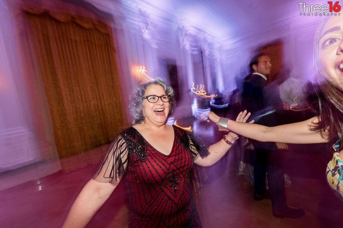 Wedding Reception Guests dance the night away