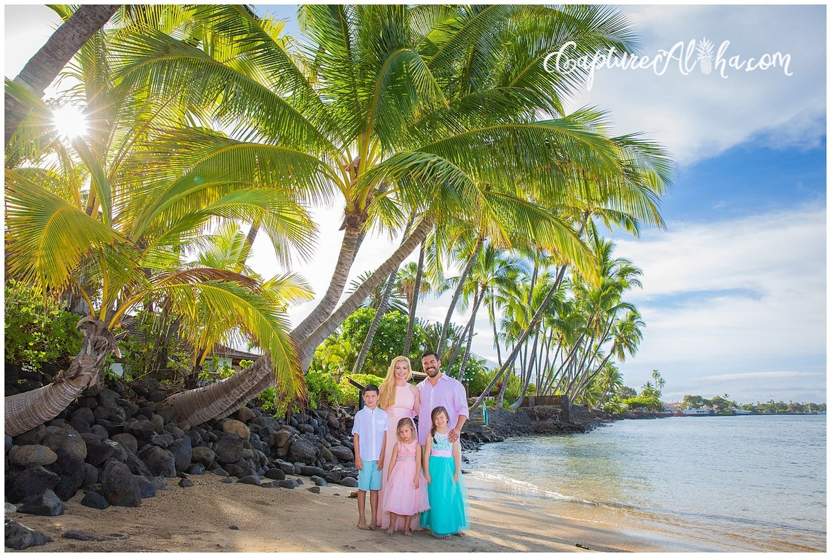 Capture Aloha Photography, Maui Family at the Beach