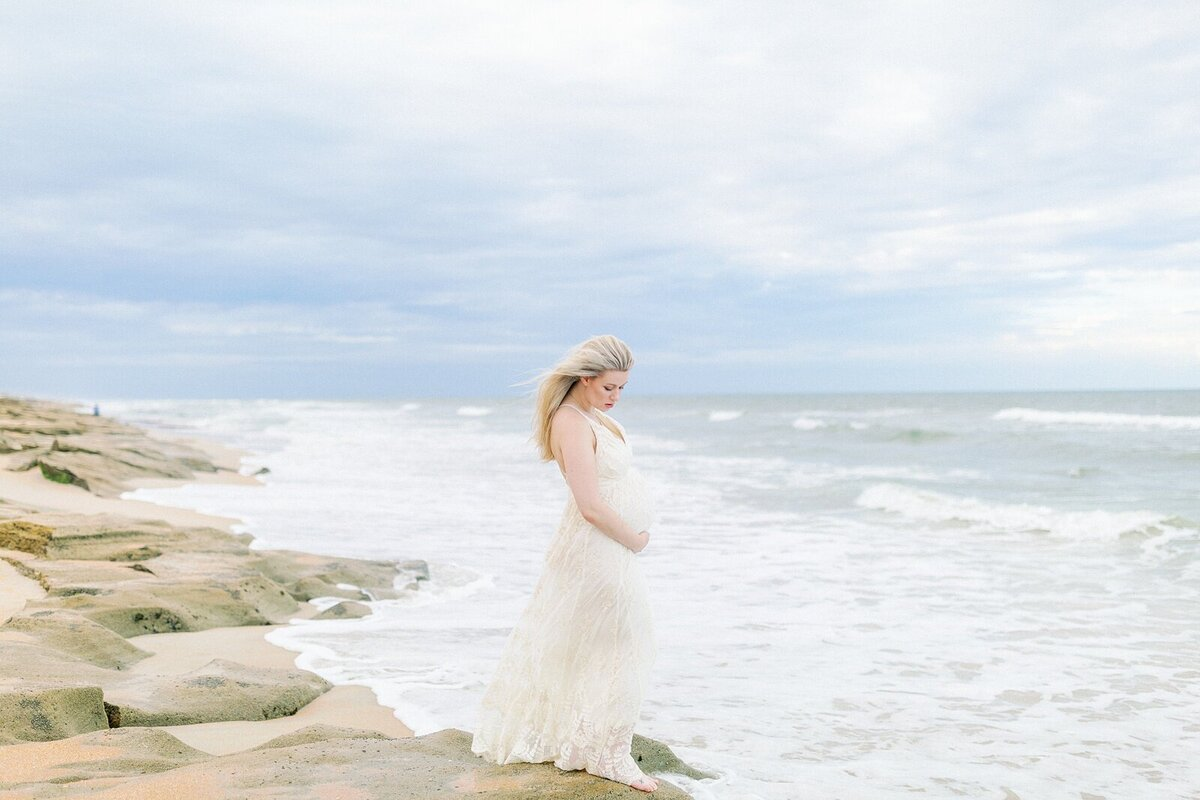 Ashley + Adrian Pamparau Washington Oaks State Park Maternity Session Photographer Casie Marie Photography-121