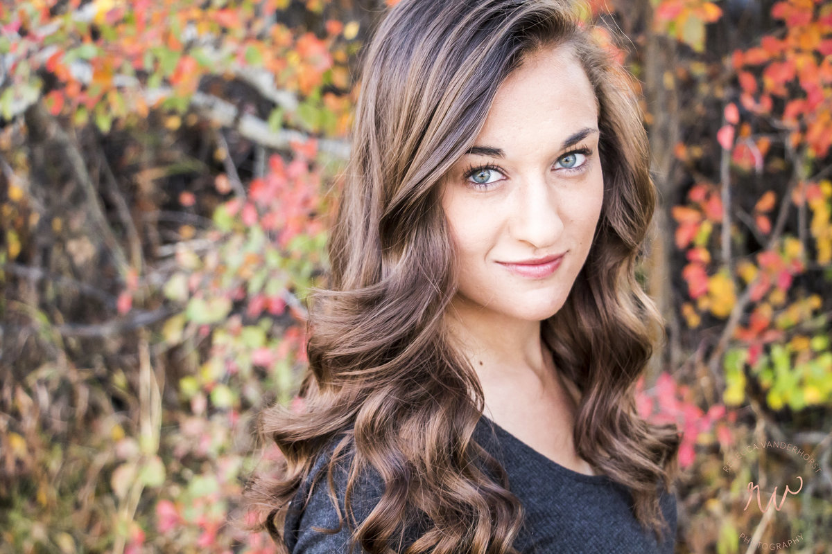 fall leaves, color, senior portraits, tetonia, idaho, teton valley