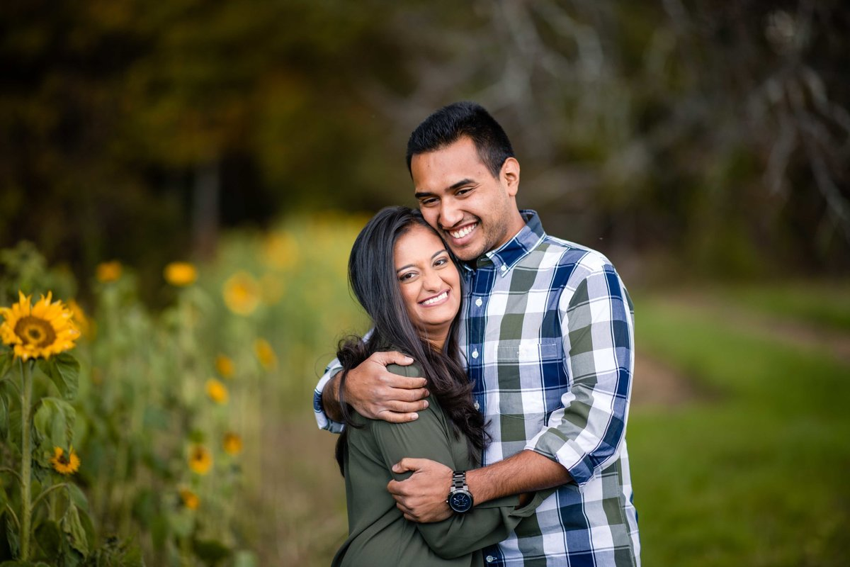 48 sunflower engagement photos for indian weddings ct