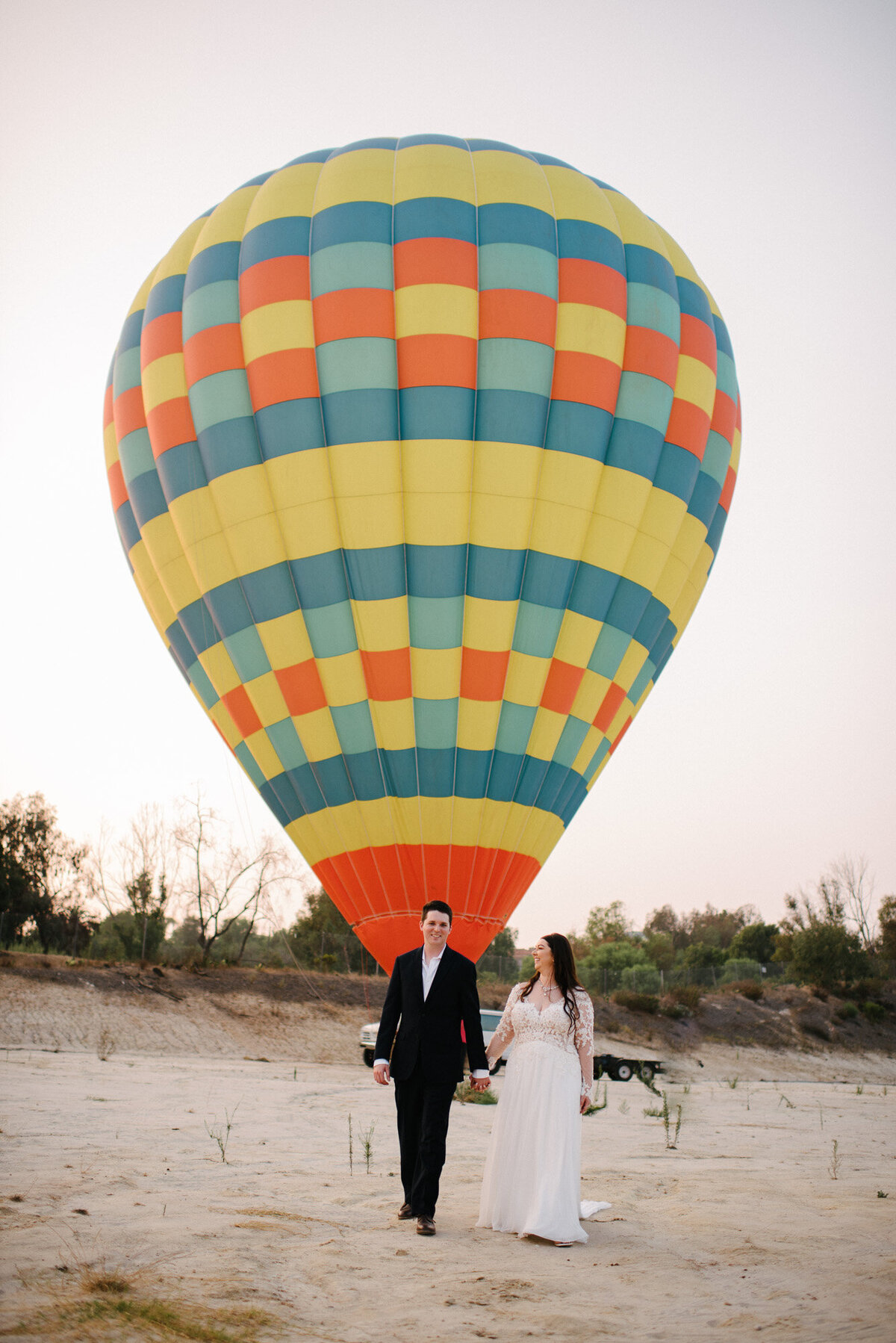 Hot Air Balloon Elopement Marie Monforte Photography-191