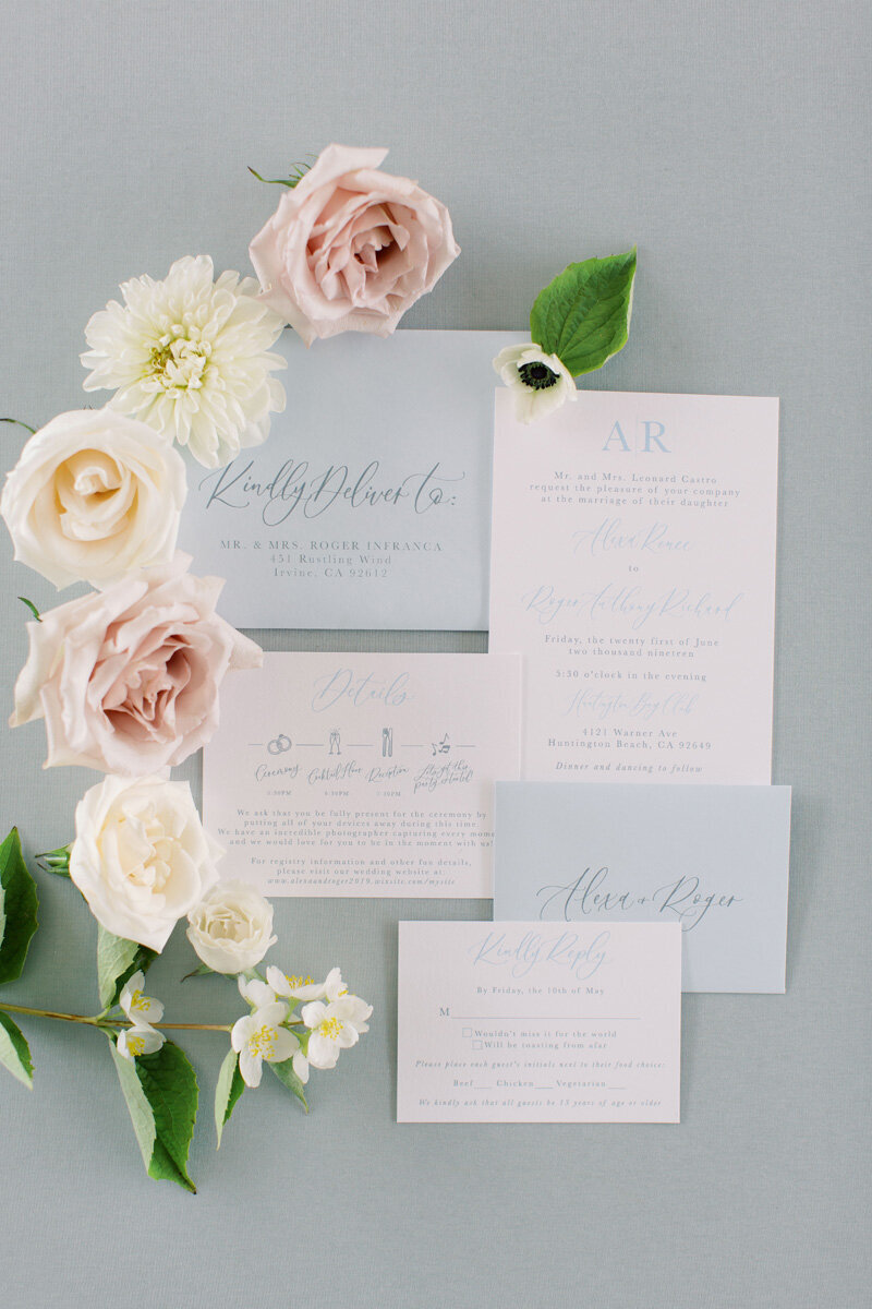 www.pirouettepaper.com |  Wedding Invitations, Calligraphy nd Wedding Stationery | Huntington Bay Club | _ Pirouette Paper Company | Cami Jane Photography _ 30