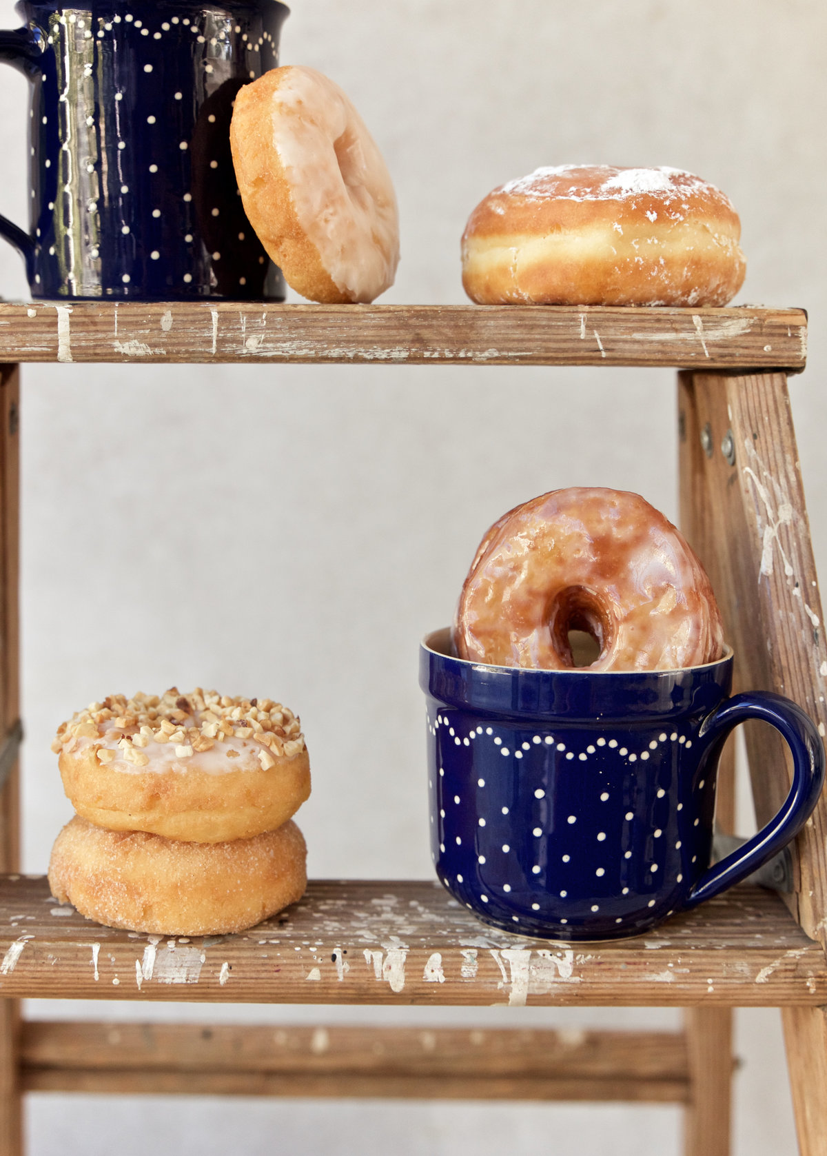 food donut coffee instagram styling vintage aesthetic anthropologie