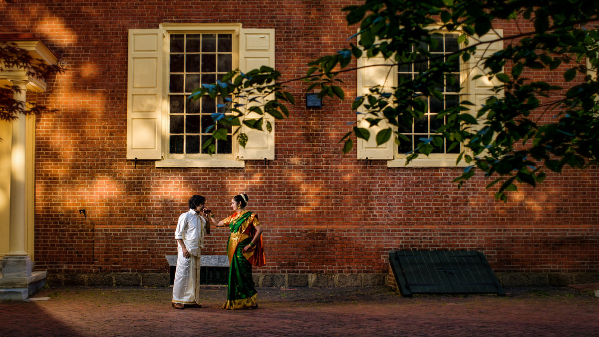 South Asian Wedding in Historic Philadelphia