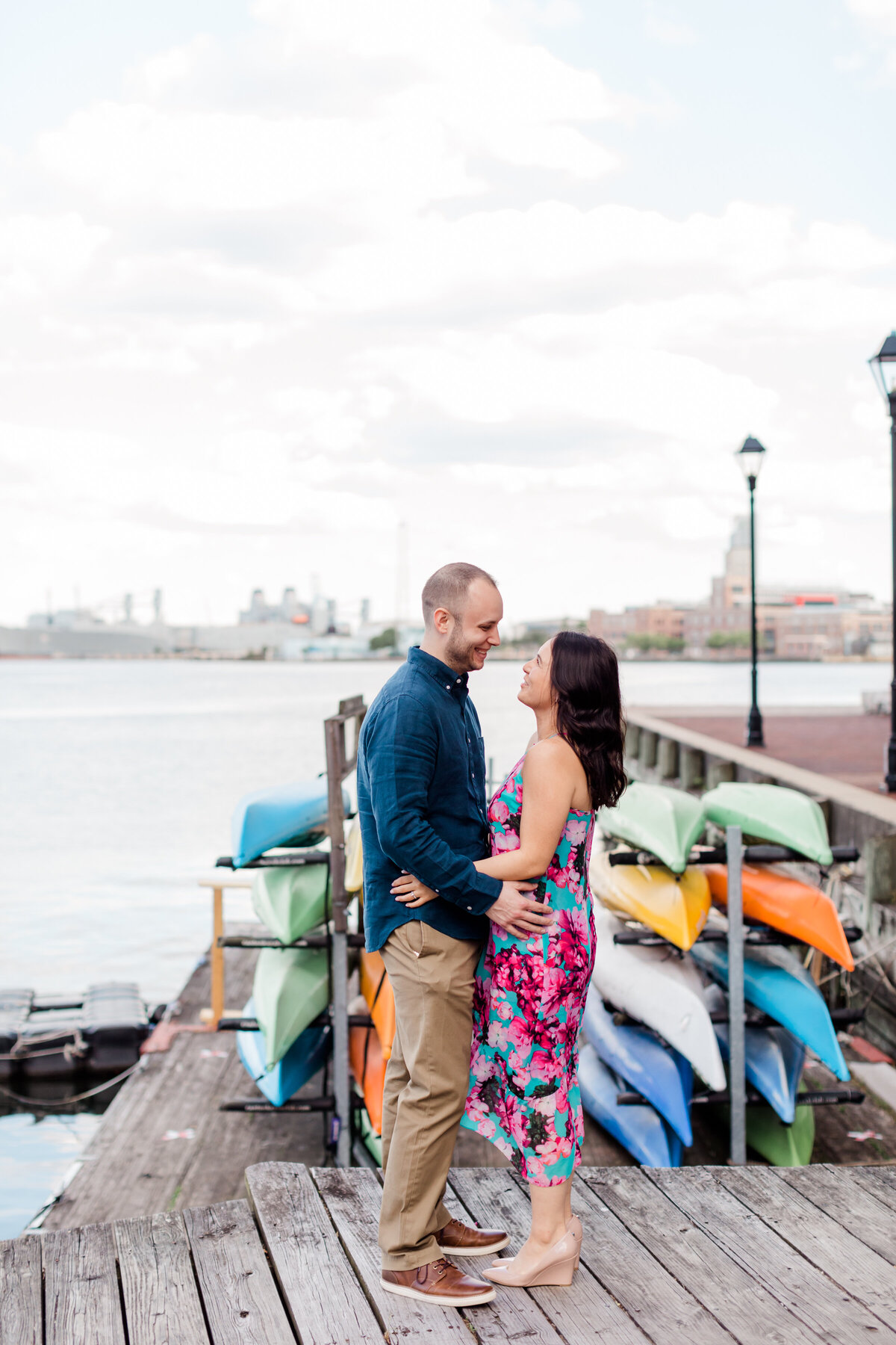 Engagement in fells point