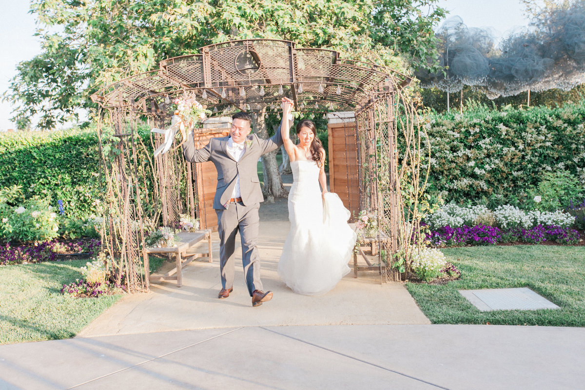 Outdoor Wedding Grand Entrance