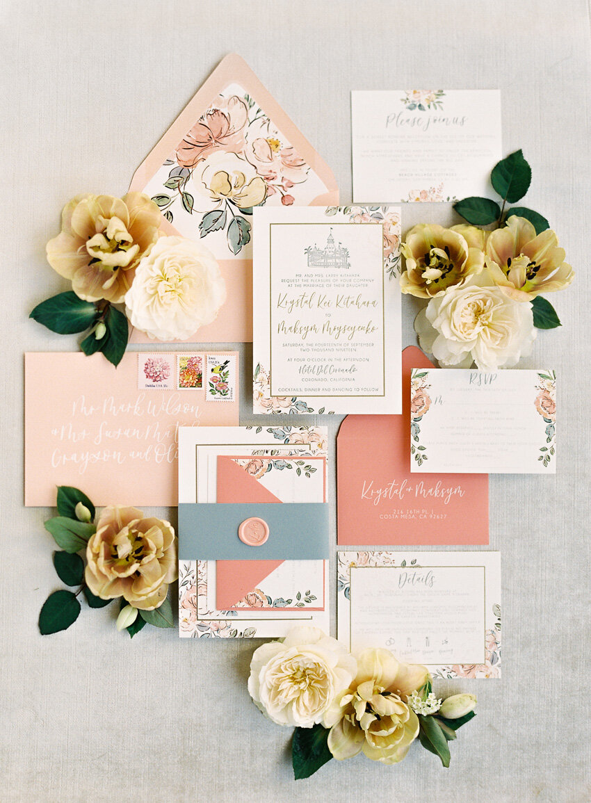 pirouettepaper.com | Wedding Stationery, Signage and Invitations | Pirouette Paper Company | Invitation Styling and Flatlays | Sposto Photography 080