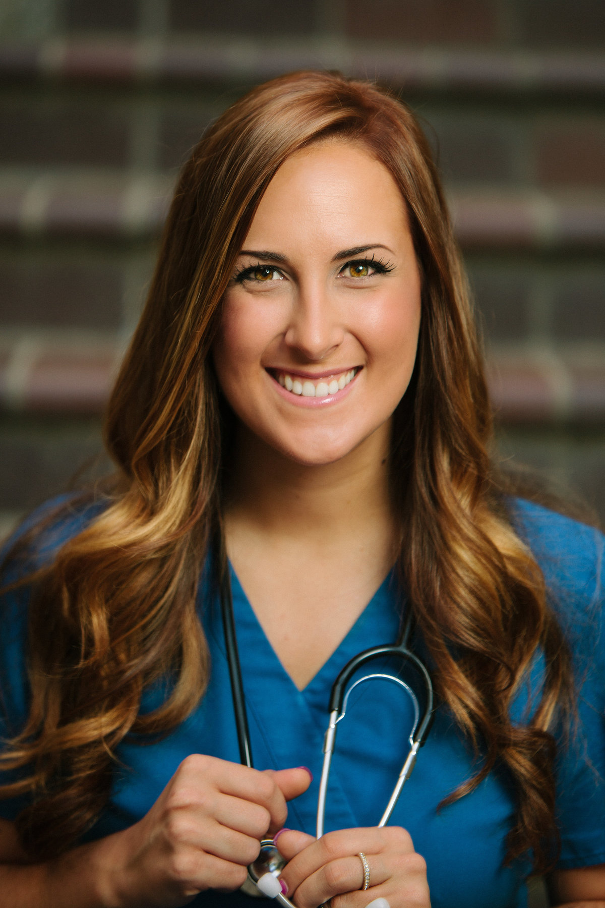 Corporate nurse headshot photo