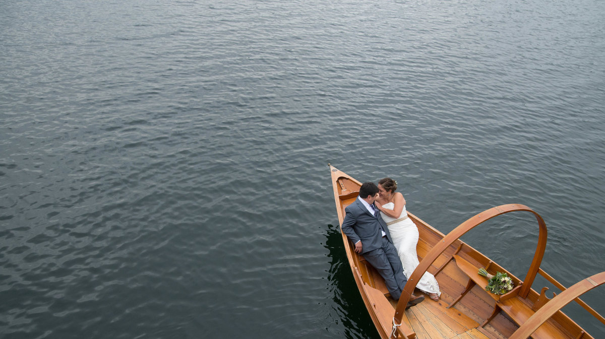 Lake George wedding by YM Photography
