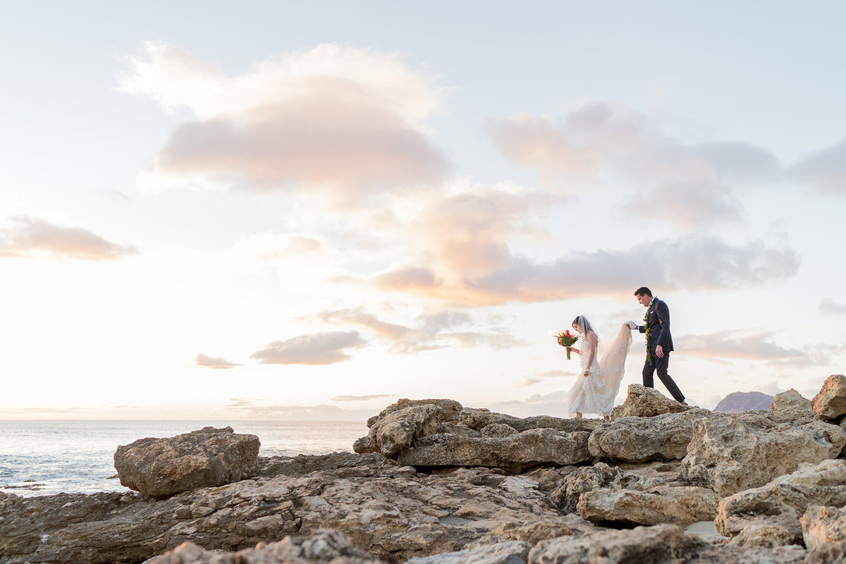 Oahu Hawaii Wedding Photos-2