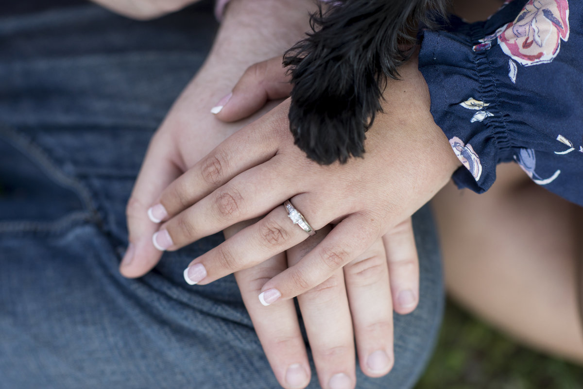 Pets and engagments at percy warner park