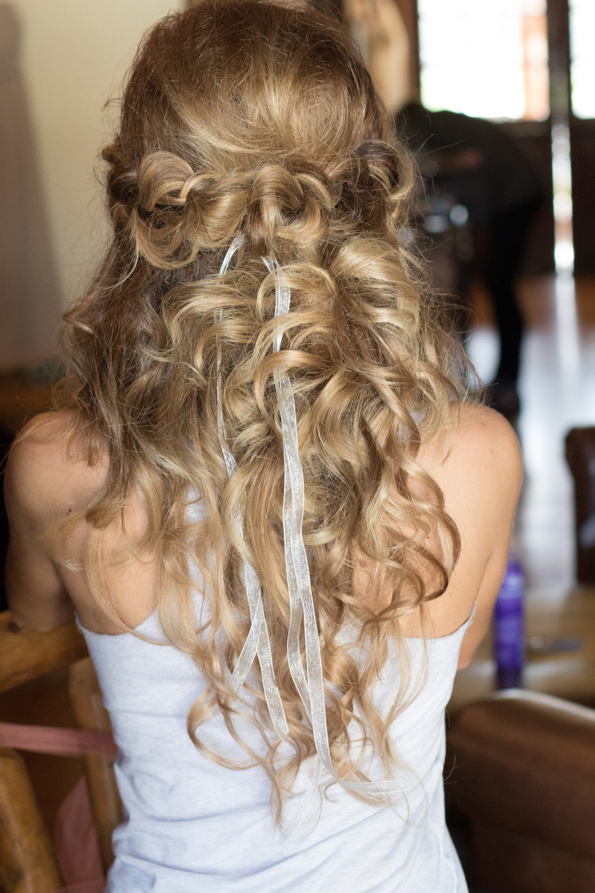 bride hairstyle, brides hair,