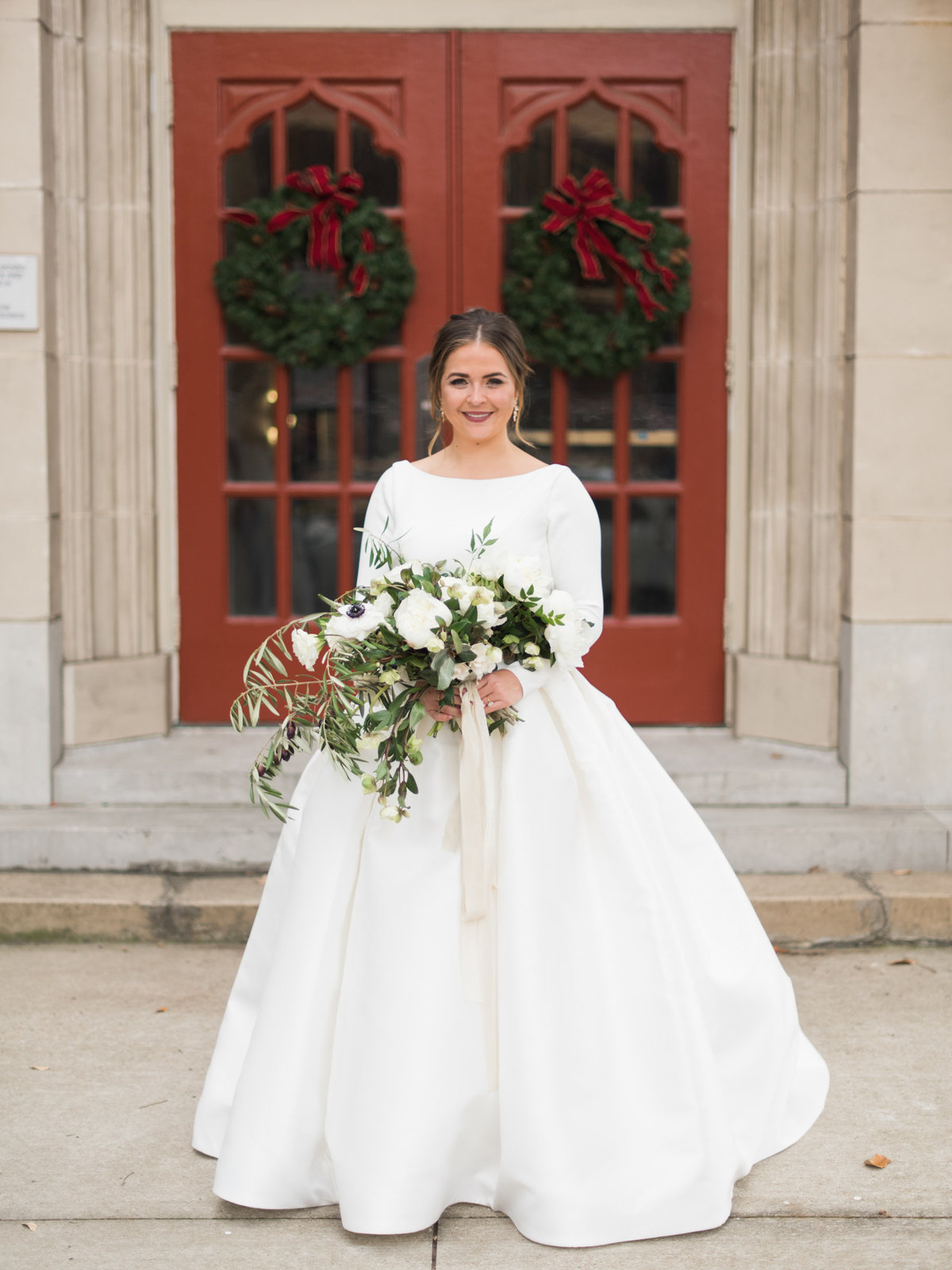 Courtney Hanson Photography - Festive Holiday Wedding in Dallas at Hickory Street Annex-3857