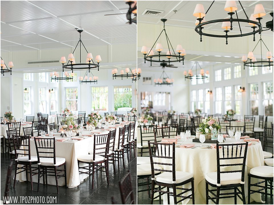 Tavern on the Bay Ballroom wedding reception