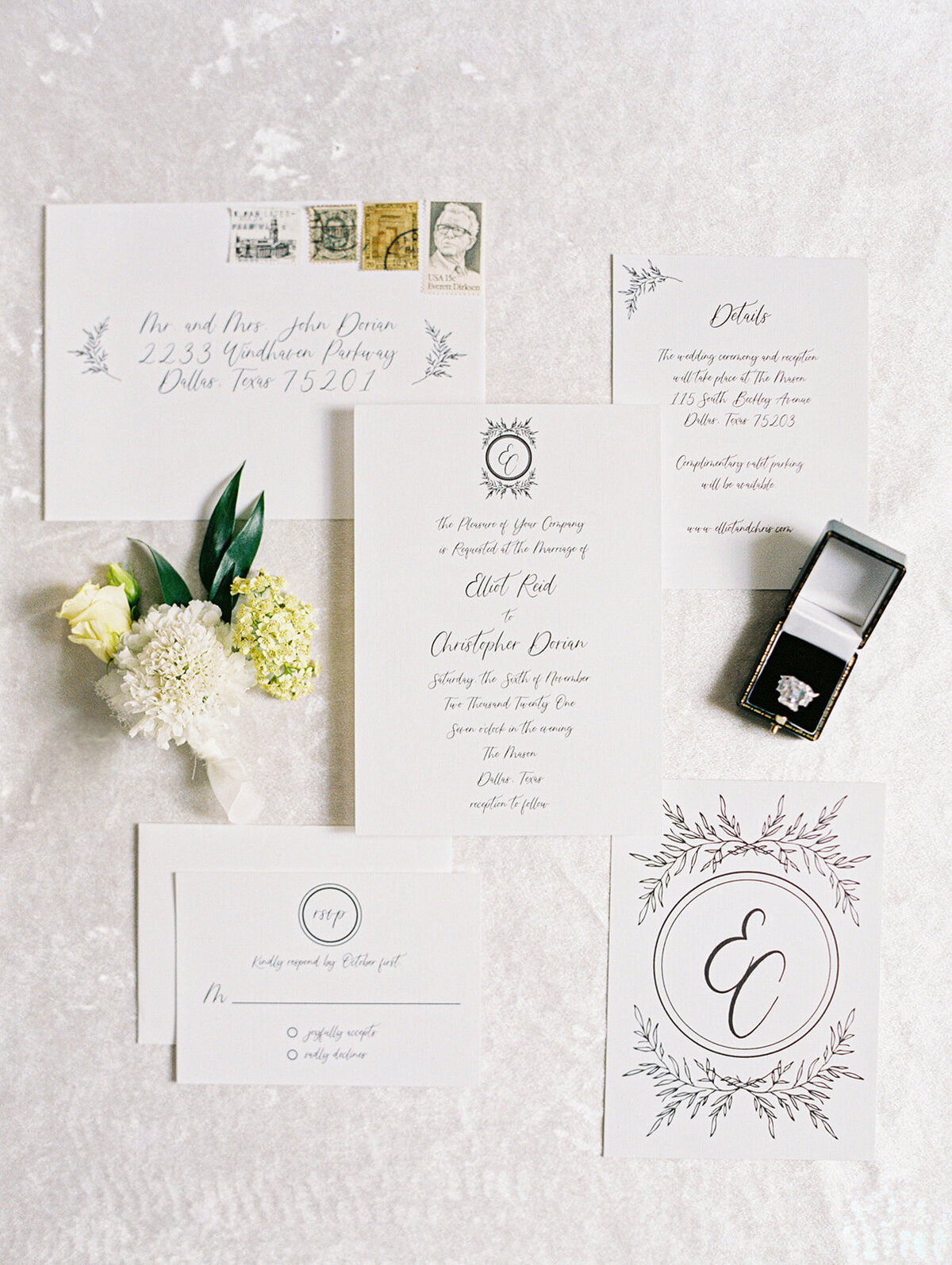 Elegant Elopement at the Mason Dallas (20)