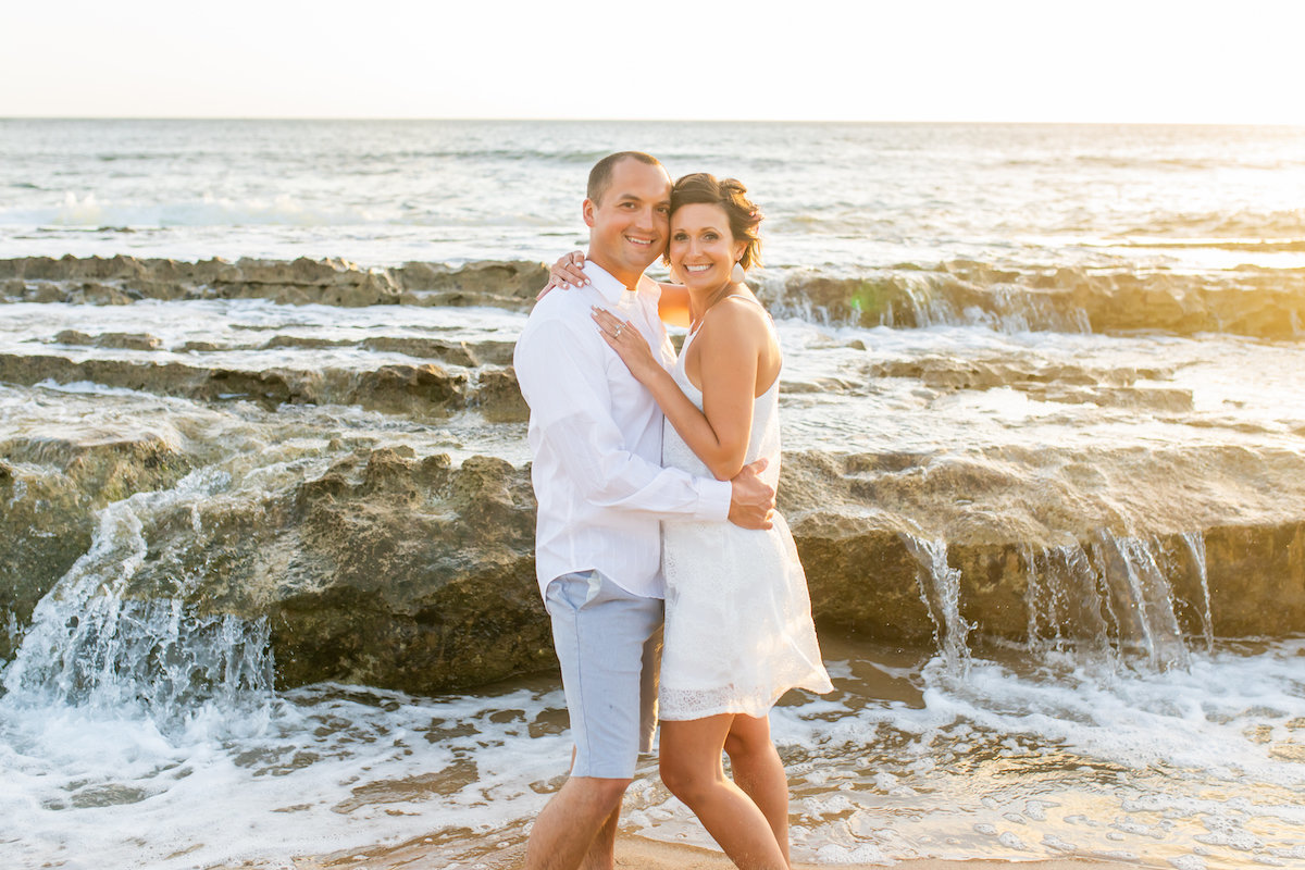 Romantic Kauai engagement photos